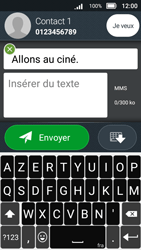 Doro 8031 - Contact, Appels, SMS/MMS - Envoyer un MMS - Étape 12