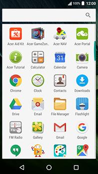 Acer Liquid Zest 4G Plus - Internet - Internet browsing - Step 2