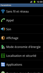 Samsung I9100 Galaxy S II - Messagerie vocale - Configuration manuelle - Étape 4