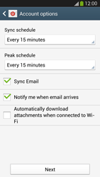 Samsung I9505 Galaxy S IV LTE - E-mail - Manual configuration (yahoo) - Step 7