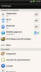 HTC S728e One X Plus - Internet - aan- of uitzetten - Stap 4
