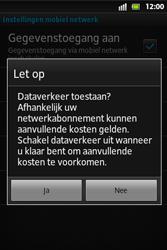 Sony ST27i Xperia Go - Internet - Handmatig instellen - Stap 7