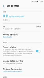 Samsung Galaxy S6 - Android Nougat - Internet - Activar o desactivar la conexión de datos - Paso 6
