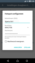 Sony Xperia XA1 (G3121) - WiFi - Mobiele hotspot instellen - Stap 9