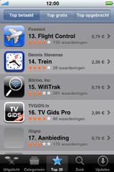 Apple iPhone 3G S - Applicaties - Downloaden - Stap 7