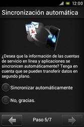 Sony Xperia E - Primeros pasos - Activar el equipo - Paso 7
