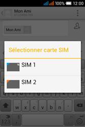 Alcatel OT-4015X Pop C1 - Contact, Appels, SMS/MMS - Envoyer un SMS - Étape 10