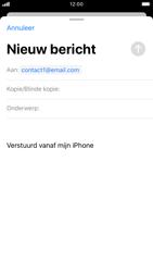 Apple iphone-7-met-ios-13-model-a1778 - E-mail - Hoe te versturen - Stap 6