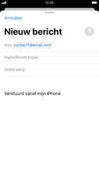 Apple iPhone 6s - iOS 13 - E-mail - e-mail versturen - Stap 5