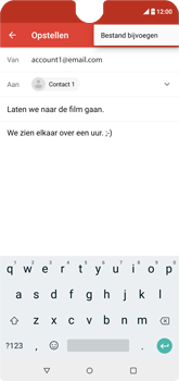 Wiko View 2 - E-mail - e-mail versturen - Stap 9