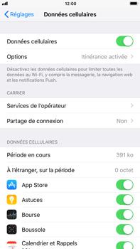 Apple iPhone 6 Plus - iOS 11 - Aller plus loin - Désactiver les données à l'étranger - Étape 4