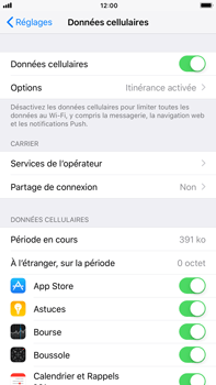 Apple iPhone 7 Plus iOS 11 - Internet - Utilisation à l