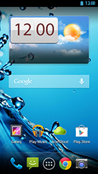 Acer Liquid E2 - Internet - Populaire sites - Stap 1