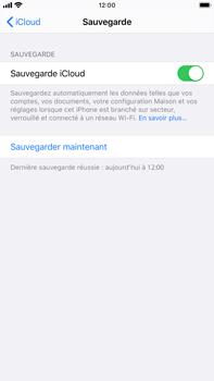 Apple iPhone 7 Plus - iOS 13 - Données - créer une sauvegarde avec votre compte - Étape 12