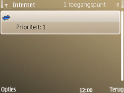 Nokia E72 - Internet - handmatig instellen - Stap 15