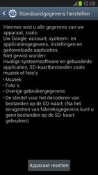 Samsung I9305 Galaxy S III LTE - Instellingen aanpassen - Fabrieksinstellingen terugzetten - Stap 6