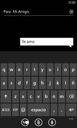 Nokia Lumia 520 - Mensajería - Escribir y enviar un mensaje multimedia - Paso 8