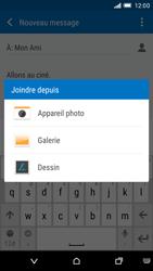 HTC One M9 - MMS - envoi d'images - Étape 14