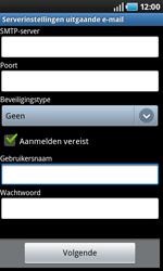 Samsung I9000 Galaxy S - E-mail - e-mail instellen: POP3 - Stap 9