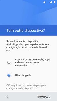 Motorola Moto G (4ª Geração) - Primeiros passos - Como ativar seu aparelho - Etapa 13