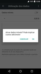 Alcatel Idol 4 VR - Internet no telemóvel - Como ativar os dados móveis -  6