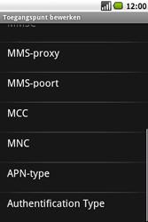 Samsung I7500 Galaxy - MMS - Handmatig instellen - Stap 11