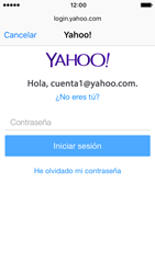 Apple iPhone 5s iOS 10 - E-mail - Configurar Yahoo! - Paso 7