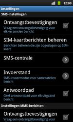 Samsung I9001 Galaxy S Plus - SMS - handmatig instellen - Stap 4