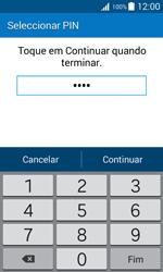 Samsung Galaxy J1 - Segurança - Como ativar o código de bloqueio do ecrã -  8