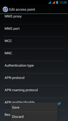 Wiko Stairway - Internet - Manual configuration - Step 18