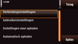 Nokia N97 Mini - E-mail - e-mail instellen: POP3 - Stap 21