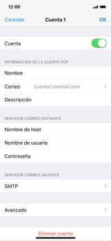 Apple iPhone X - E-mail - Configurar correo electrónico - Paso 25