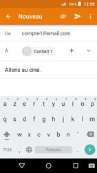 Acer Liquid Z320 - E-mail - envoyer un e-mail - Étape 8