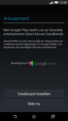 HTC One M8 - Applicaties - Account aanmaken - Stap 19