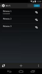 Motorola Moto G - Wifi - configuration manuelle - Étape 7