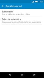 HTC One M8 - Red - Seleccionar una red - Paso 6