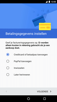 Huawei Google Nexus 6P - Applicaties - Account aanmaken - Stap 17