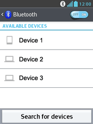 LG E430 Optimus L3 II - Bluetooth - Pair with another device - Step 7