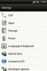 HTC A320e Desire C - Voicemail - Manual configuration - Step 4