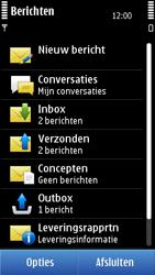 Nokia C7-00 - MMS - afbeeldingen verzenden - Stap 3