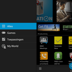 BlackBerry Passport - Applicaties - Downloaden - Stap 5