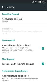 HTC Desire 825 - Sécuriser votre mobile - Activer le code de verrouillage - Étape 5