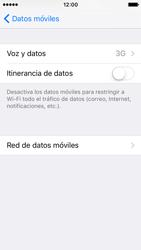 Apple iPhone SE - Red - Seleccionar el tipo de red - Paso 5