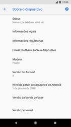 Google Pixel 2 - Primeiros passos - Como encontrar o número de IMEI do seu aparelho - Etapa 6