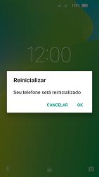 Lenovo Vibe C2 - Funções básicas - Como reiniciar o aparelho - Etapa 4