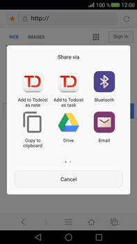 Huawei Mate S - Internet - Internet browsing - Step 15