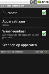 Samsung I7500 Galaxy - Bluetooth - Headset, carkit verbinding - Stap 6