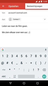 Nokia 6.1 Dual-SIM (TA-1043) - E-mail - Hoe te versturen - Stap 10