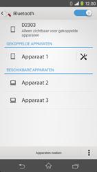 Sony D2303 Xperia M2 - Bluetooth - koppelen met ander apparaat - Stap 10