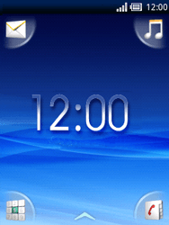 Sony Ericsson Xperia X10 Mini - Internet - Hoe te internetten - Stap 1